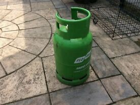 Gas Bottle ( Half Full ) For Heater Lamp £15