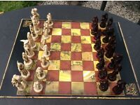 The Lord Of The Rings Two Towers Chess set