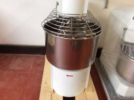 ITALIAN 50 Litre Commercial Spiral Dough Mixer