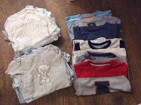 2-3 t shirt and vest bubdle