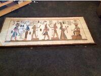 Egytpian Painting/Wall Art/ Unique Picture