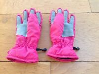Barts Ski gloves, pink, age 4-6years