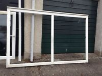 Large tilt and turn double glazed window