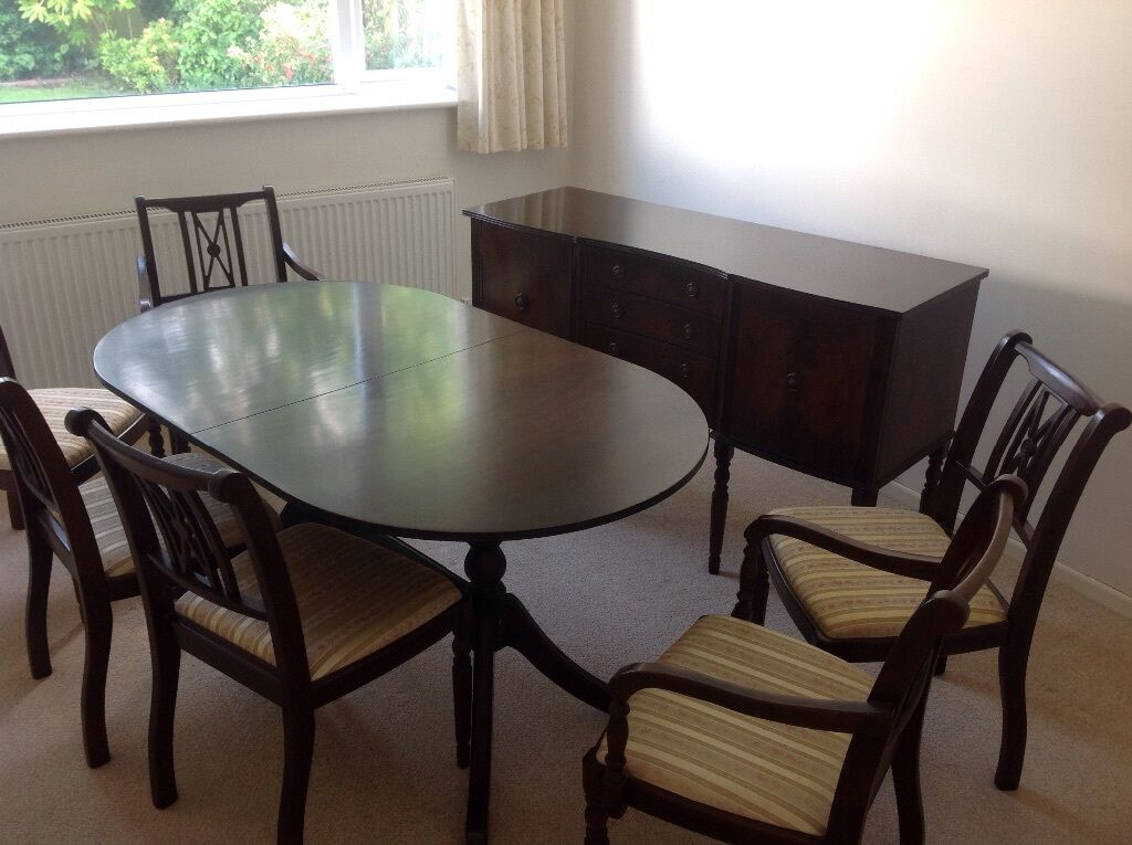Dining Suite Table 6 Chairs And Sideboard In Exmouth Devon Gumtree
