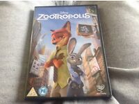 Zootropolis dvd for sale brand new