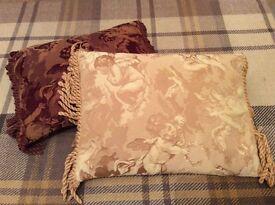 Laura Ashley cherub cushions
