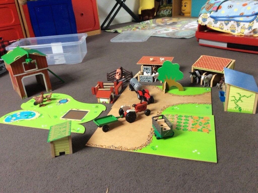 Toy farm.