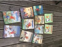 Old collect able Rupert manuals and other various childhood books