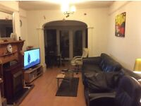 Double bedroom available in a modern house with car parking close to tube/ train lines