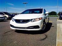 2014 Honda Civic LX BAS KILOMETRAGE !! DEMARREUR A DISTANCE !!