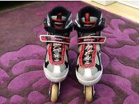 Blindside inline skates (1-3) U.K. Red/white