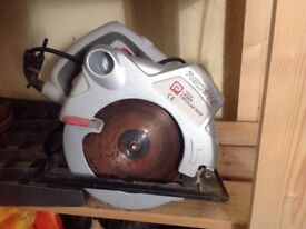 Laser Circular Saw 12W for sale in very good condition.