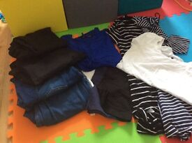 Maternity clothing bundle size 14 contains 11 items