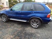 BMW X5 3.0D Le Mans blue sport edition