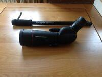 Helios ED60DS Fieldscope - X45 Sporting spotter scope
