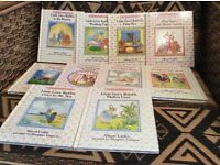 10 book set of The Little Grey Rabbit library