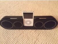 iPod/iPhone 4 speakers with remote