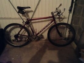 Vintage Saracen tuff trax mountain bike for sale,