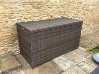 Outdoor Rattan Storage Box