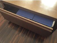 Solid oak coffee table with drawer rrp £999