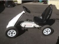 2 x Kettler pedal cars