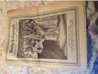 Daily Telegraph Coronation Picture Supplement. June 3. 1953.