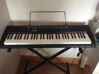 Electronic keyboard with stand and stool £65