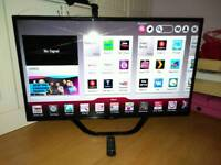 LG 47 inch LED Smart TV with Wi-Fi DualCore and Freeview HD