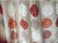 John Lewis ready made curtains - two pairs.