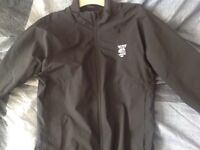 NEW BLACK MEDIUN GALVIN GREEN GORTEX WATERPROOF GOLF JACKET.