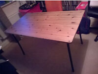 IKEA ANTNAS Wooden top Desk/Table