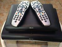 Sky hd boxes plus remotes
