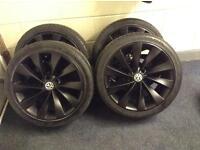 VW Scirocco Turbine wheels & Tyres