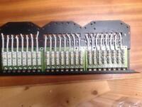"Krone 19"" RJ45 rack mounted patch panel"