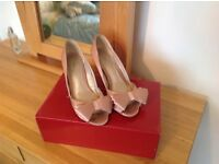 Size 4 phase eight dusty pink occasion shoes