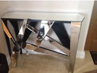 Art Deco Mirrored Console Table for sale (damaged)