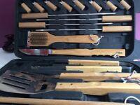BBQ tool set