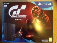 Sony PlayStation 4, unused in sealed box 500GB