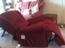 Sherborne Malvern Standard size lift and Recliner chair
