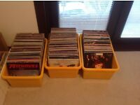 Vinyl records for sale. mix of LP's and singles.
