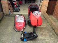 Britax B-Smart buggy and carrycot