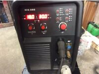 Snap on 250 amp mig and tig welder