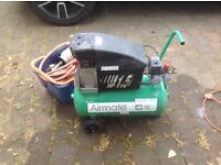 Air Compressor with attachments