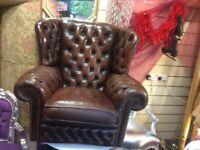 Chesterfield queen Ann chair