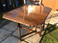 Quality Drop Leaf Kitchen Dining Table with Gate Legs
