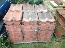 JOB LOT OF PANTILES RECENTLY REMOVED FROM OUR GARAGE