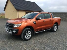 Ford Ranger Wildtrak 4x4 Automatic 3.2cc 2015/15. Low Miles. £19,950 (No VAT)