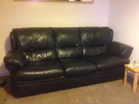 Free 4 seat leather sofa