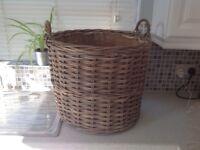 Large log basket