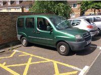 2002 fiat doblo 1.3cc petrol 5 door long mot very clean car